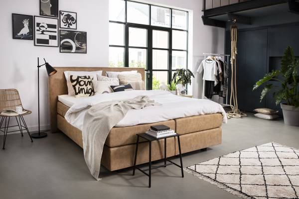 Boxspring Naturel & Minimalisme